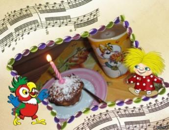 Kuchen : Eierlikör - Apfel - Cranberry - Rezept