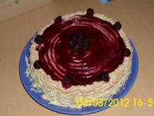 Brombeer-Nougat-Torte - Rezept