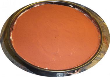 Tiramisu als Torte mit Marzipan - Rezept