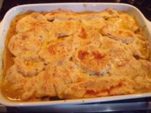 Pikanter Kürbis-Pie mit Brothaube - Rezept