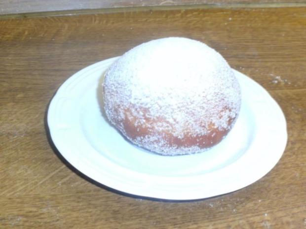 Berliner Pfannkuchen / Krapfen / Kreppel - Rezept