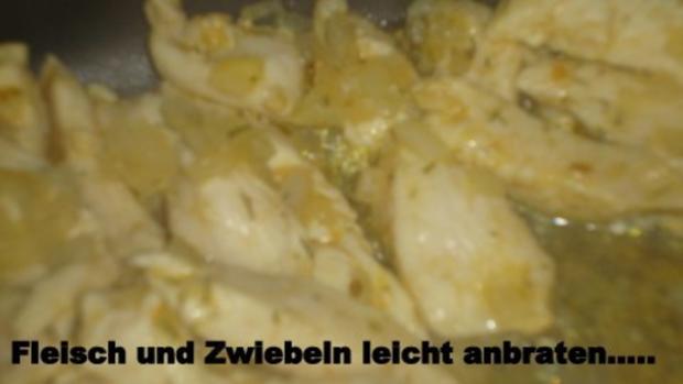 Linguine mit Hühnchenfilet in cremiger Zitronensoße - Rezept - Bild Nr. 5