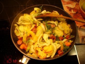 Fenchel - Kartoffel - Gratin - Rezept
