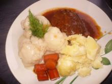 Rinder-Beinscheibe - Rezept