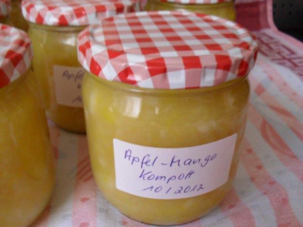 Apfel-Mango-Kompott - Rezept - Bild Nr. 9