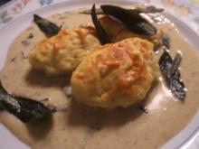 Pasta: Gnocchi Ripieni con Salsa di Salvia - Rezept