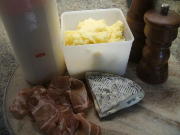 Pasta: Gnocchi Ripieni con Salsa di Salvia - Rezept - Bild Nr. 2
