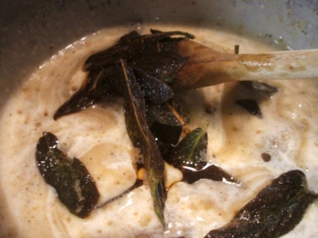 Pasta: Gnocchi Ripieni con Salsa di Salvia - Rezept - Bild Nr. 16