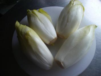 Chicoree karamelisiert - Rezept