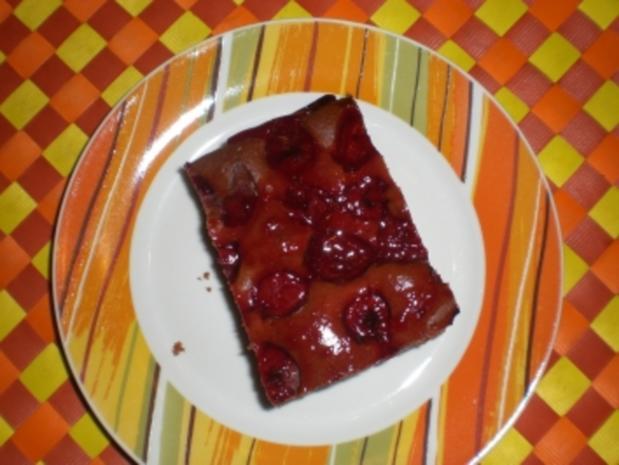 Schneller Blechkuchen Rezept schneller blechkuchen schoko kirsch rezept kochbar de