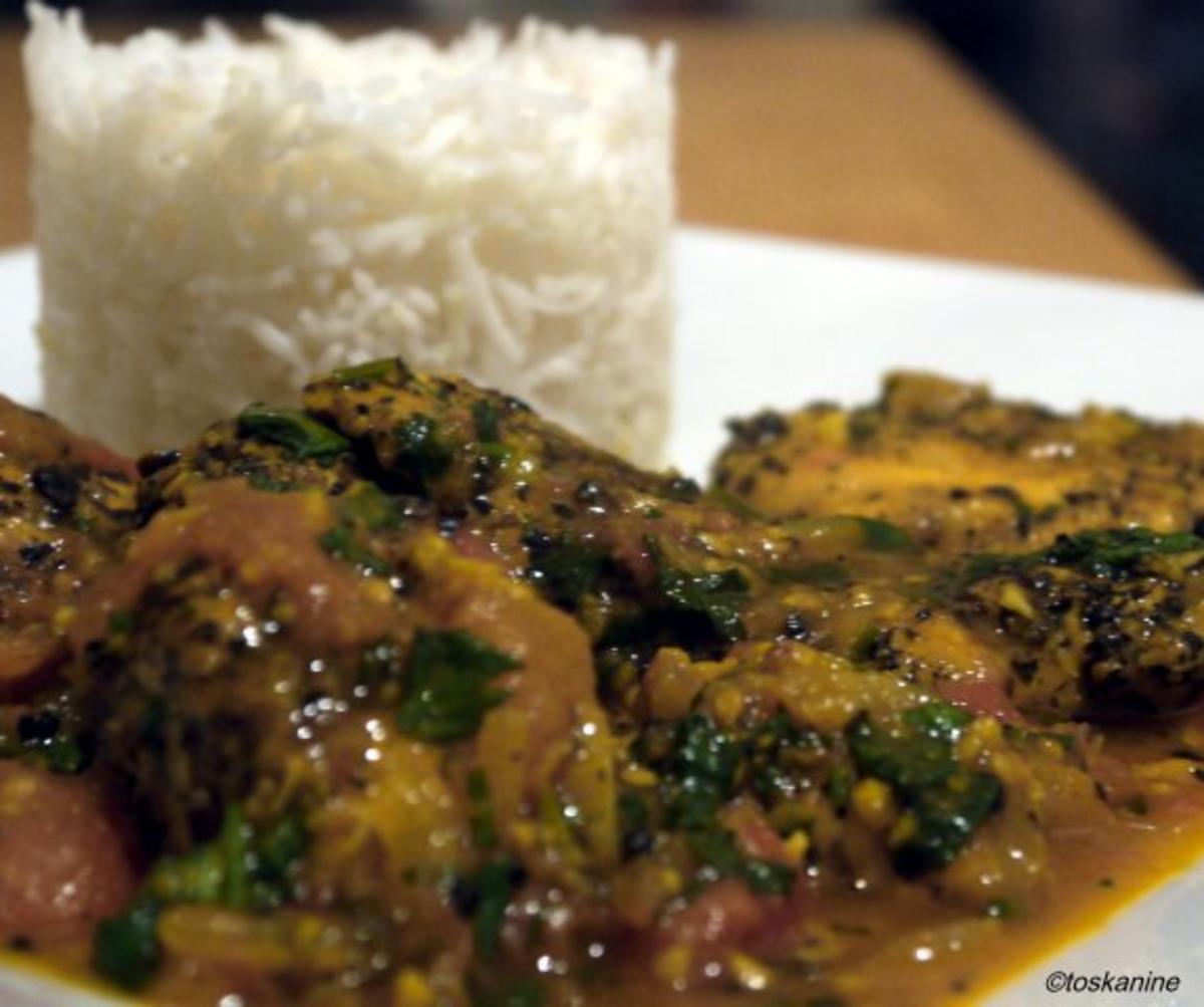 Südindisches Pfefferhähnchen - Rezept Eingereicht von toskanine