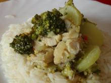 Fisch Brokkoli Curry - Rezept
