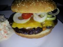 Selfmade  Cheeseburger á la Big Mac - Rezept