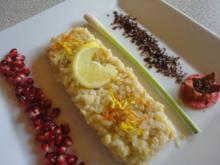 süßer Zitronengras Risotto - Rezept