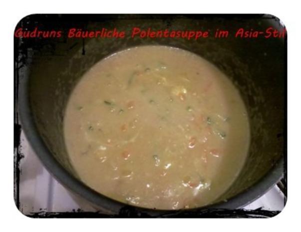 Suppe: Bäuerliche Polentasuppe im Asia-Stil â la Gudrun - Rezept - Bild Nr. 7