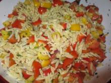 griechischer Reissalat-Nudelsalat - Rezept