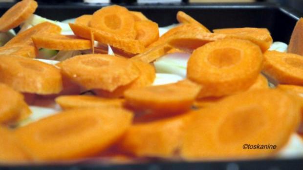 Fenchel und Möhren geröstet mit Parmesanbröseln - Rezept - Bild Nr. 4