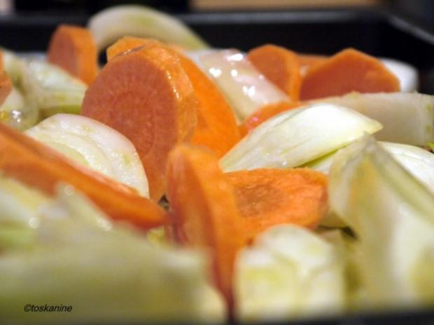Fenchel und Möhren geröstet mit Parmesanbröseln - Rezept - Bild Nr. 6