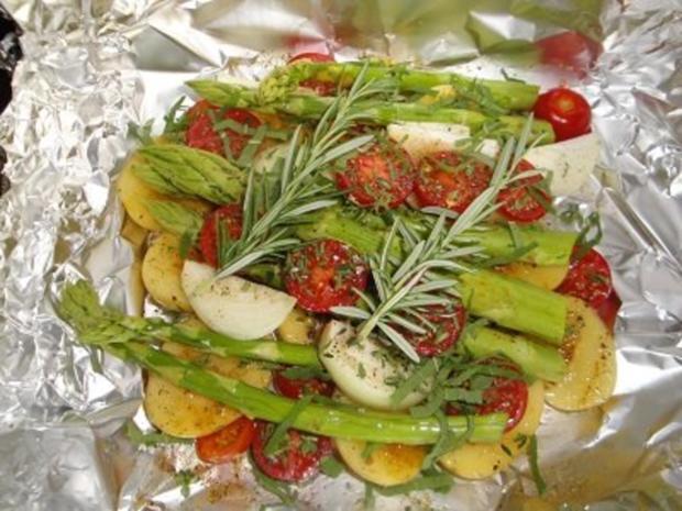 Gemüse in der Folie - Rezept - Bild Nr. 2