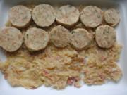 Knödel-Sauerkraut-Auflauf - Rezept