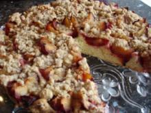 Grundrezept: Mittelfester Rührteig für Obstkuchen - Rezept