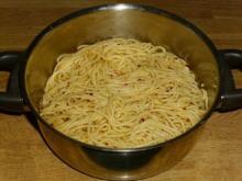 Spaghetti alla Harissa - Rezept