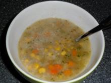 Gemüse - Haferflocken - Suppe - Rezept