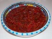 Pikanter Chili-Tomaten-Dip - Rezept