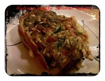 Quiche: Letzte Sommer-Quiche des Jahres 2012 - Rezept