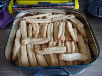 Plätzchen 2012 : Spritzgebäck mit der KitchenAid - Rezept
