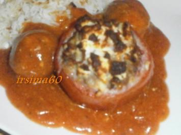Rezept: Gefüllte Tomaten mit Feta