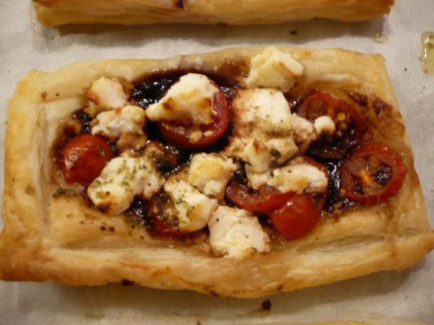 Tomaten - Ziegenkäse - Tarte - Rezept - Bild Nr. 7