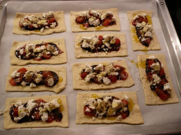 Tomaten - Ziegenkäse - Tarte - Rezept - Bild Nr. 5