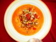 Puten-Chili mit Paprika und Mais - Rezept