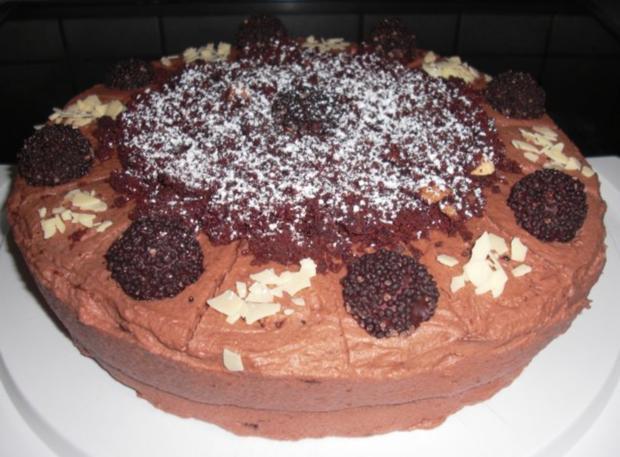Schoko- Rondo-Torte mit Mascarponecreme - Rezept - Bild Nr. 4