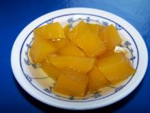 Kürbis Kompott süß sauer - Rezept