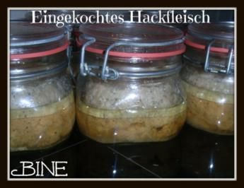 BiNe` S EINGEKOCHTES HACKFLEISCH - Rezept