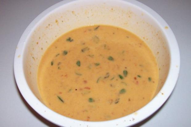 Vorspeise/Abendessen: Blätterteig-Lachs-Törtchen mit Pesto und Tomaten - Rezept - Bild Nr. 8