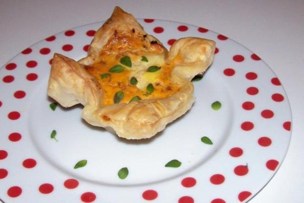Vorspeise/Abendessen: Blätterteig-Lachs-Törtchen mit Pesto und Tomaten - Rezept - Bild Nr. 13