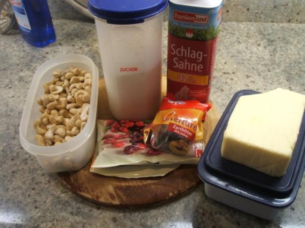 Plätzchen: Cashew-Konfekt - Rezept - Bild Nr. 2