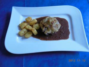 Kochen: Schweinefilet Soubise mit Pommes Dauophine - Rezept