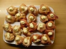 Fagottini con mousse di pollo - Rezept