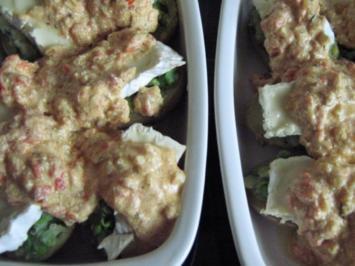 Gefüllte Kartoffeln  -   mit Gemüse - Rezept