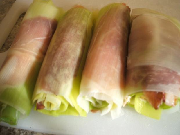 Gemüse: Lauchroulladen - Rezept - Bild Nr. 9
