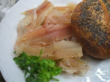 Fisch: Graved Trout - Gebeizte Forelle - Rezept