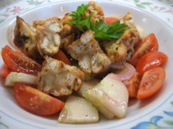 Salate: Lauwarmer Brez´nknödel-Salat - Rezept