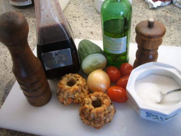 Salate: Lauwarmer Brez´nknödel-Salat - Rezept - Bild Nr. 2