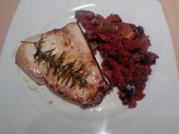 ENTWAFFNETER WAFFENNARR WIRD IN DIE PFANNE GEHAUEN - Schwertfisch-Steaks - Rezept