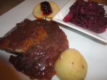 Portwein Zwiebel Sauce - Rezept