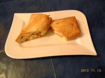 Kuchen: Aprikosen-Käse-Strudel - Rezept